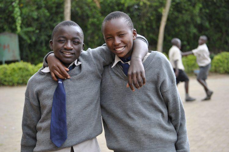 Bývalí chlapci ulice, teraz úspešní študenti v centre Bosco Boys