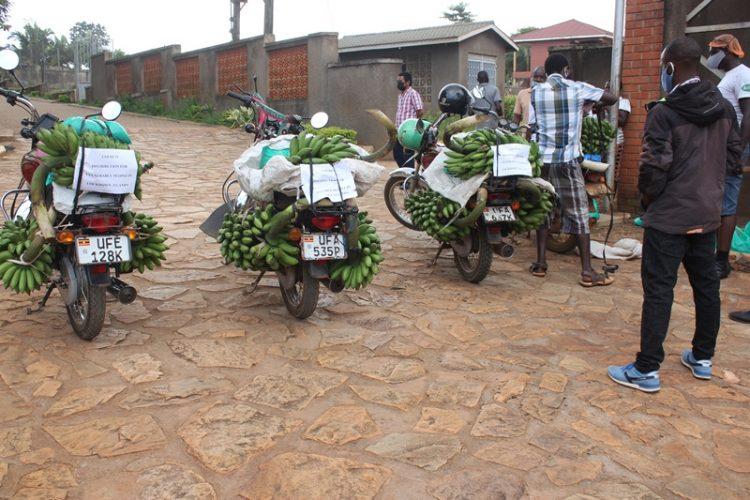 AGL - Uganda - Nmugongo. Food distribution 04